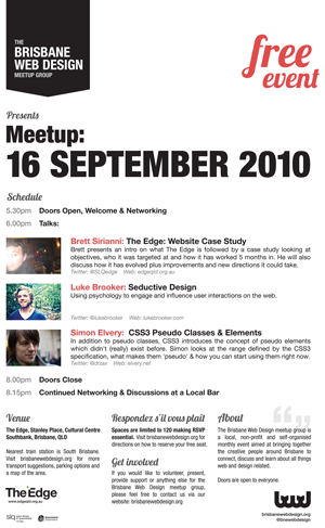 BWD-Poster-16September2010 - Click to download (PDF)